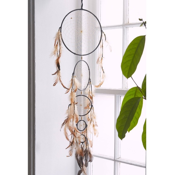 Urban Outfitters Tiered Dreamcatcher Brown
